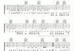 刘允乐《太早》高清吉他弹唱谱F调完美版原版编配+视频教学【两个版本】