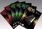 【下载】英皇《Rockschool键盘Keys考级0-8级》超清PDF+音频